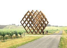 Under/standing – Studio Dror's installation to be built in 2016 on Brancott Vineyard