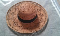 // weathered straw hat from my latest ETSY BLOG post: http://www.etsy.com/blog/en/2012/story-board-heat-wave/