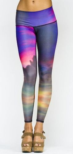 Clouds Yoga Hot Pant by Teeki. More inspiration at: http://www.valenciamindfulnessretreat.org