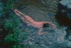 Ana Mendieta, Untitled (Creek #2), San Felipe, Mexico on ArtStack #ana-mendieta #art
