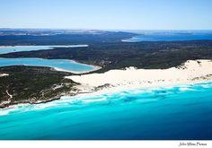 The beautiful Eyre Peninsula - Aerial photo of Sleaford Bay South Australia by john white photos, via Flickr