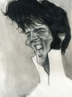 Elvis Presley Wykonawca: Jota Leal strona www: http://www.j-exhibit.com/