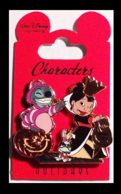 Halloween pin of Lilo & Stitch