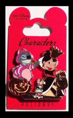 Halloween pin of Lilo & Stitch