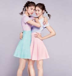 Japanese Girl Group, Asian Beauty, Twins, Snow White, Tower, Vintage, Disney Princess, Formal, Beautiful