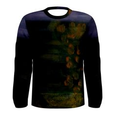 All appleartcom's products are from the original paintings of the artist/designer Jocelyn Apple. Kindly see: (www.facebook.com/appleartcom)    (www.cowcow.com/appleartcom). The Plight Men's Long Sleeve Tee by JOcelyn APple/Appleartcom.Tackle winter in style with this fully uniquely designed long sleeve t-shirt just for you!