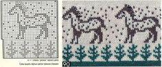 Kazaklarınız için hayvan desenleri( şemalı)