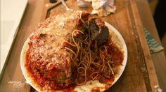 Riesen-Fleischball mit Spaghetti - Abenteuer Leben täglich - Kabeleins