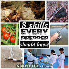 8 Skills Every Prepper Should Know - Survival at Home