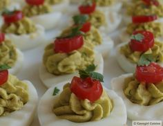 Deviled Guac Eggs...just in time for Easter!  #paleo