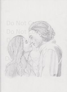 The Mortal Instruments Jace and Clary by YoungSagittaria on Etsy
