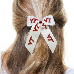 Virginia Tech Hokies Cheer Ponytail Hair Bow - $8.99