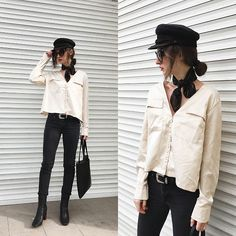 Get this look: http://lb.nu/look/8637769  More looks by Daria Moysa: http://lb.nu/dariamoysa  Items in this look:  Zaful Sunglasses, Zaful Bag, Zaful Blouse, Levi's® Jeans   #bohemian #chic #street