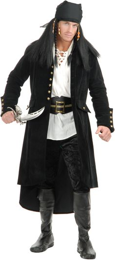 Treasure Island Adult #Pirate Coat