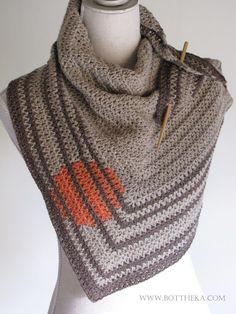 sun zen garden crocheted shawl http://bottheka.com/en/marina-or-sunrise-in-a-zen-garden
