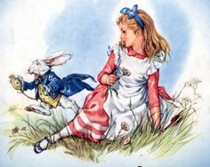 "Illustrations of the tale L. Carroll's ""Alice in Wonderland"" Mariah Libiko"
