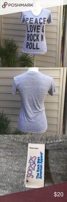 AMERICAN APPAREL Super Soft Gray T AMERICAN APPAREL Super Soft Gray T. Never Worn. NWOT. As is. In perfect condition. The softest T! American Apparel Tops Tees - Short Sleeve