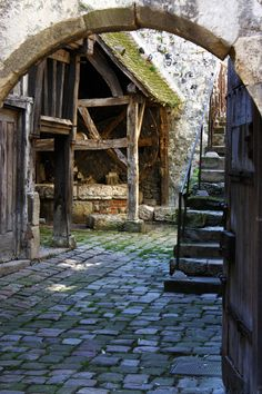 Medieval by Ally-Design on DeviantArt Medieval Houses, Medieval Life, Medieval Castle, Medieval Fantasy, Old Buildings, Abandoned Places, Middle Ages, Architecture, Beautiful Places