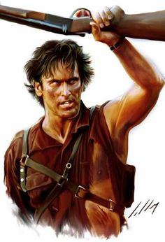 My boom stick! I crack up every time. #brucecampbell #evildead Army of Darkness