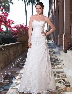 Wedding Gowns 2015 sweetheart Style 6065