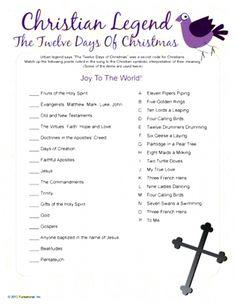Christmas Riddles, Christmas Games, Christmas Diy, Twelve Days Of Christmas, Joy To The World, Gaming, Ministry, Videogames, Game