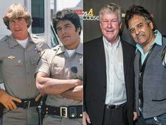 THE GUYS OF CHiPS The month of their season 3 DVD release seemed like the perfect time for the stars of CHiPS – Larry Wilcox and Erik Estrada – to reunite at the Cops 4 Causes Golden Ticket Benefit at Avalon Hollywood on March Larry Wilcox, Stephanie Zimbalist, Mejores Series Tv, Celebrities Then And Now, Old Shows, Vintage Tv, Old Tv, Classic Tv, Famous Faces
