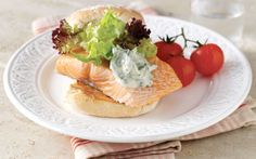 Barbecuing Loch Duart Salmon