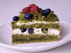 MECHOVÝ (ŠPENÁTOVÝ) DORT - BAKES OF JANE Sweets Cake, Crinkles, Tiramisu, Menu, Ethnic Recipes, Desserts, Food, Cakes, Lemon
