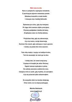 Wiersz na Dzień Mamy i Taty | Sklep \ Pobierz za darmo - wiersze okolicznościowe Therapy