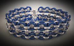 29  Chain Maille Armband  Chainmaille Bracelet von TroisPerles
