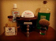 SOTD Wet Shaving, Safety Razor, After Shave, Bottle, Food, Aftershave, Flask, Meals