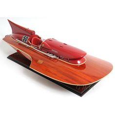 Old Modern Handicraft Ferrari Hydroplane Boat - Model Boats & Accessories at Hayneedle