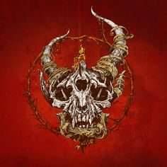 7 - Album Cover For 'True Defiance' by Christian Metal Band Demon Hunter. Note The Shot Through The Head. Created By Justin Kamerer from AngryBlue