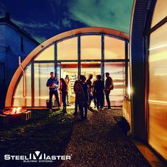 A warm fire, cool breeze and a beautiful quonset hut create the perfect fall night. Here's another great photo of Detroit's True North quonset hut village. What do you think about this one? Read more about this @princeconcepts project. Link in bio #fall #falltheme #fallnight #halloween #steel #steelmaster #steelquonset #quonsethut #qhut #detroit #michigan #architect #modernarchitecture #architects #arch #architecturelovers #architecturephotography #architecture_greatshots