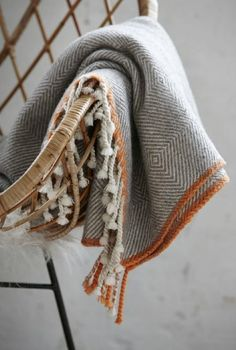 Handwoven Woolens ~sandra de~My Romantic Heart~