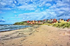 Hundested Beach, Denmark ~ by Ivan Detchkanetz