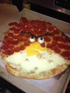 Angry Birds Pizza.