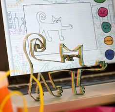 DOODLE3D, website 3 D, 3d Printing, Workshop, Table Lamp, Website, Children, Prints, Home Decor, Kunst