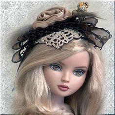 fascinator hats for dolls