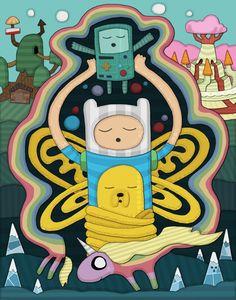 Арты от mattblanksart » Adventure Time - Время Приключений с Финном и Джейком