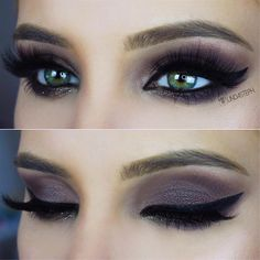 Bold Smoky Eye by @lindasteph I #pampadour #eotd #inspiration #smokeyeye #artistpalette #abh #makeup #beauty