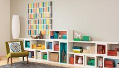 Modular Stacking Shelves