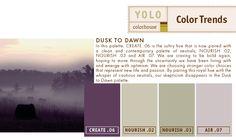 YOLO Colorhouse Dusk to Dawn Palette