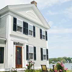 See how a passionate weekend woodworker brought this Greek Revival back to life with miles of handcrafted moldings.   Photo: Wendell T. Webber   thisoldhouse.com