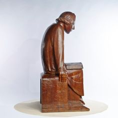 Ernst Barlach Lesender Klosterschüler