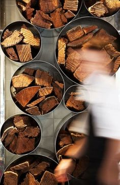 Creative Ways to Store Firewood: 7 Tips and 62 Examples_34