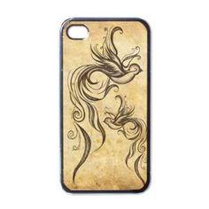 Swallow Bird Retro #Tattoo iPhone 4/4S Hard Case