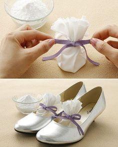 Eliminate Shoe Odor DIY