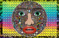 Collage by Eveline Berkman, via Behance