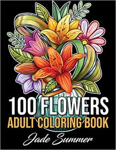 Enjoy beautiful flowers and simple designs with this relaxing coloring book from bestselling publishing brand, Jade Summer. Sunflower Coloring Pages, Mandala Coloring, Adult Coloring Pages, Coloring Books, Sunflower Drawing, Free Coloring, Summer Flowers, Colorful Flowers, Beautiful Flowers